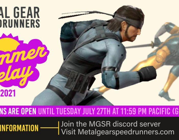 MGSR Summer Relay 2021 logo