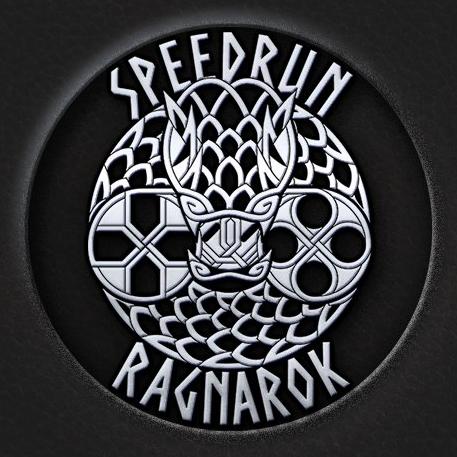 Speedrun Ragnarok logo